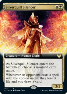 Silverquill Silencer 2 - Strixhaven School of Mages