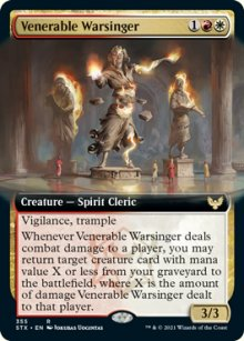 Venerable Warsinger 2 - Strixhaven School of Mages