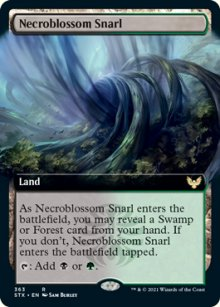 Necroblossom Snarl 2 - Strixhaven School of Mages