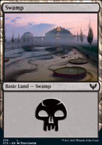 Swamp 1 - Strixhaven School of Mages