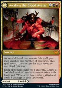 Awaken the Blood Avatar 1 - Strixhaven School of Mages