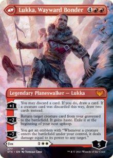Lukka, Wayward Bonder 2 - Strixhaven School of Mages