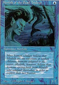 Merfolk of the Pearl Trident - Summer Magic