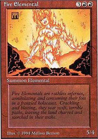Fire Elemental - Summer Magic