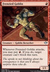 Frenzied Goblin - Speed vs. Cunning