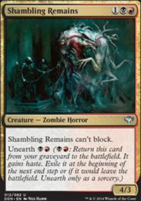 Shambling Remains - Speed vs. Cunning