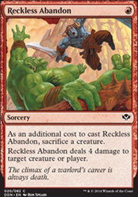 Reckless Abandon - Speed vs. Cunning
