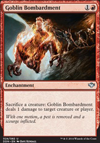 Goblin Bombardment - Speed vs. Cunning