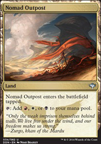 Nomad Outpost - Speed vs. Cunning