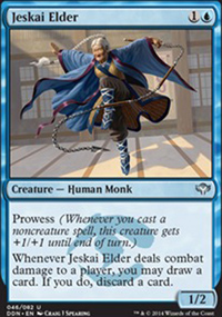 Jeskai Elder - Speed vs. Cunning