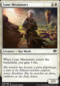 Lone Missionary - Speed vs. Cunning