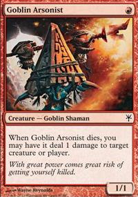 Goblin Arsonist - Sorin vs. Tibalt