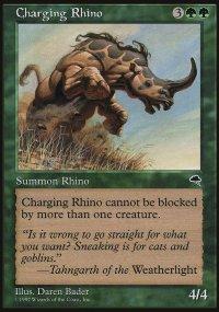 Charging Rhino - Tempest
