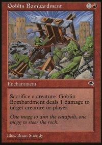 Goblin Bombardment - Tempest
