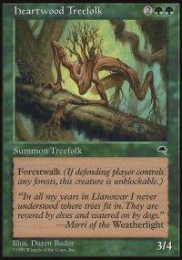 Heartwood Treefolk - Tempest