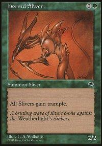 Horned Sliver - Tempest