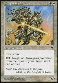 Knight of Dawn - Tempest