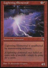Lightning Elemental - Tempest