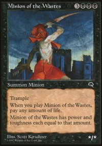 Minion of the Wastes - Tempest