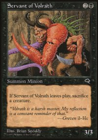 Servant of Volrath - Tempest