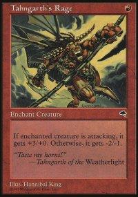Tahngarth's Rage - Tempest