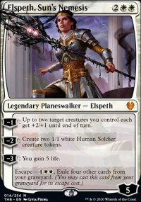 Elspeth, Sun's Nemesis 1 - Theros Beyond Death