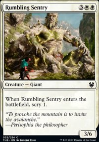 Rumbling Sentry - Theros Beyond Death