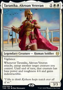 Taranika, Akroan Veteran 1 - Theros Beyond Death