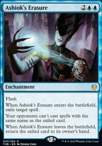 Ashiok's Erasure 1 - Theros Beyond Death