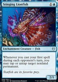 Stinging Lionfish - Theros Beyond Death