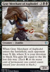 Gray Merchant of Asphodel 1 - Theros Beyond Death