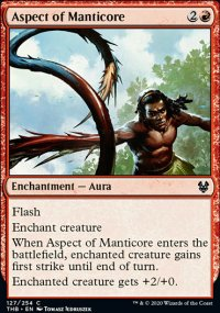 Aspect of Manticore - Theros Beyond Death