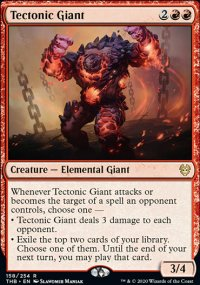 Tectonic Giant - Theros Beyond Death
