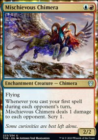 Mischievous Chimera - Theros Beyond Death