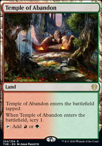 Temple of Abandon 1 - Theros Beyond Death