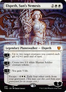 Elspeth, Sun's Nemesis - Theros Beyond Death