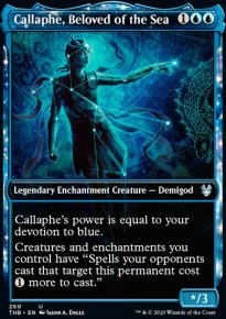 Callaphe, Beloved of the Sea - Theros Beyond Death