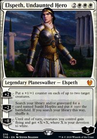Elspeth, Undaunted Hero - Theros Beyond Death