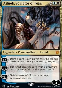 Ashiok, Sculptor of Fears - Theros Beyond Death