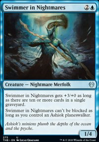 Swimmer in Nightmares - Theros Beyond Death