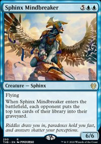 Sphinx Mindbreaker - Theros Beyond Death