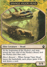 Savage Vigor Head - Theros Challenge Deck : Face the Hydra