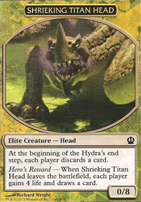 Shrieking Titan Head - Theros Challenge Deck : Face the Hydra