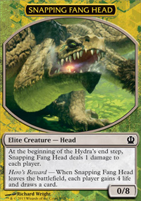 Snapping Fang Head - Theros Challenge Deck : Face the Hydra