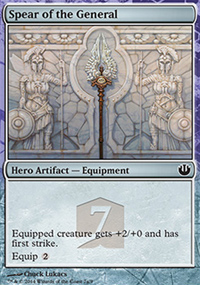 Spear of the General - Theros Heroes