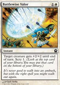 Battlewise Valor - Theros