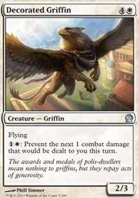 Decorated Griffin - Theros