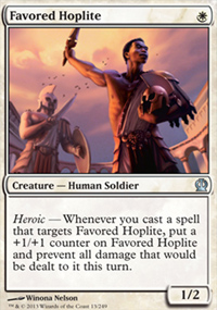 Favored Hoplite - Theros