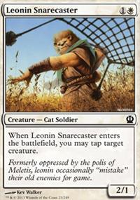 Leonin Snarecaster - Theros