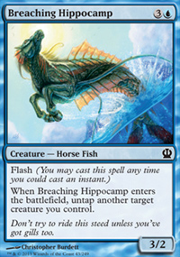 Breaching Hippocamp - Theros